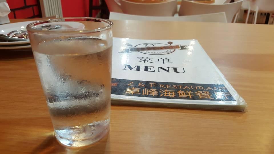 免费的一杯清水~(有淡淡的PANDAN香味)