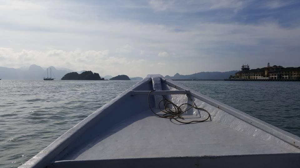 出海咯~明媚的阳光~天气非常好~