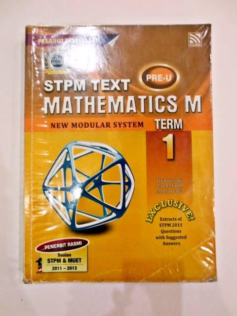 mathematics coursework stpm 2013 sem 1