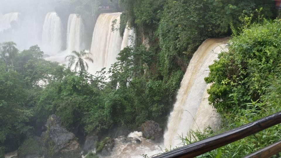阿根廷的 Iguazu falls