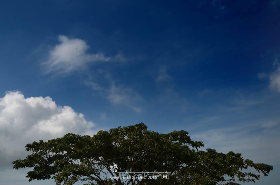 很晴朗的天空,适合看风景拍照