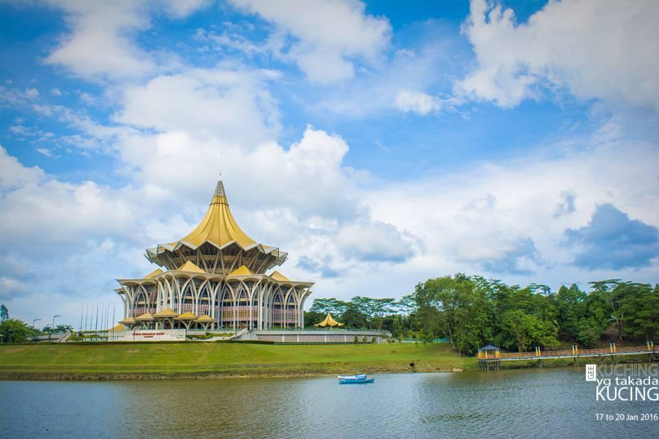 议会大厦,当然是砂拉越的。