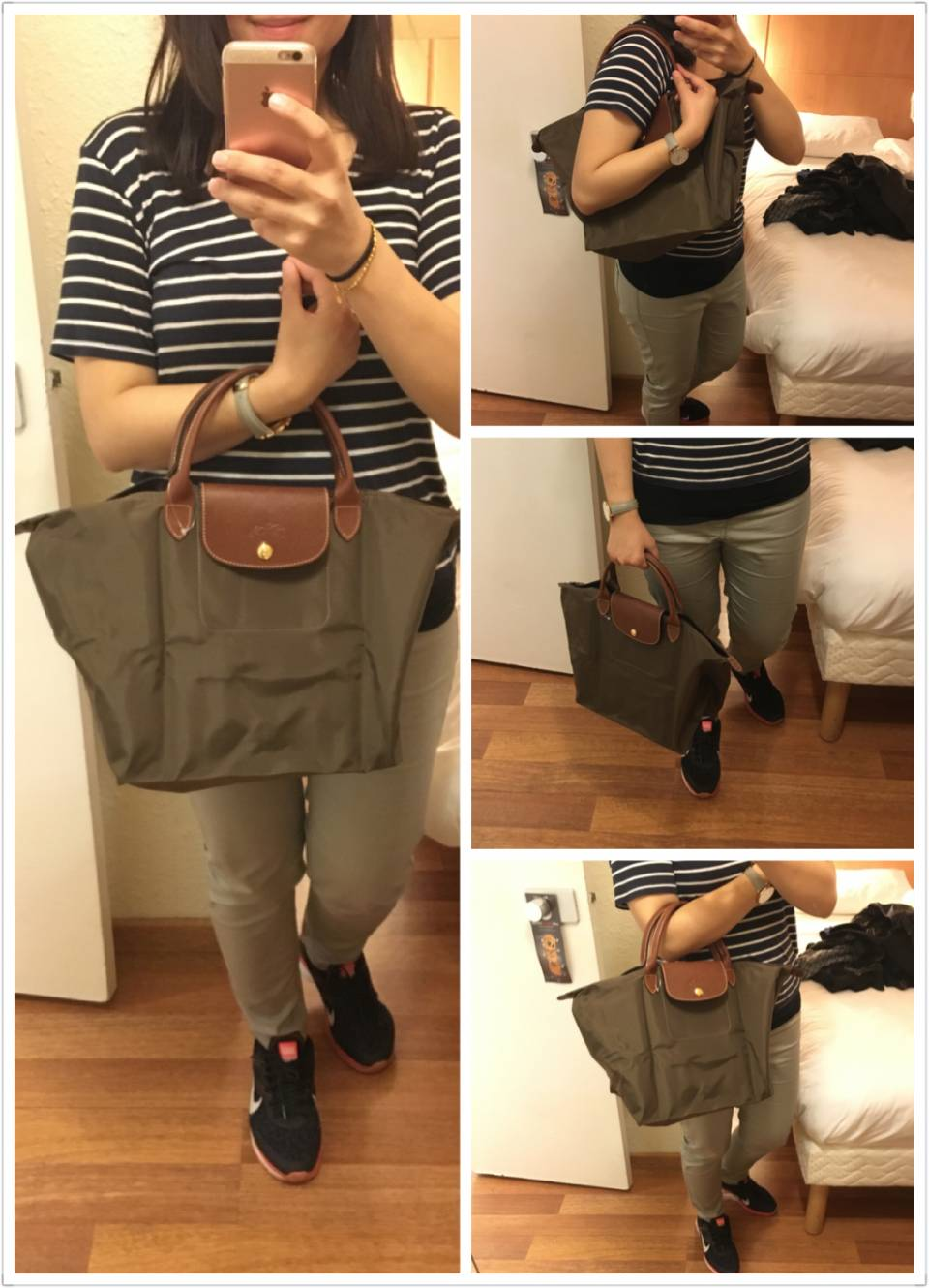 Brown M size