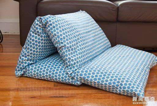 旧枕头好好利用 制造想不到的惊喜