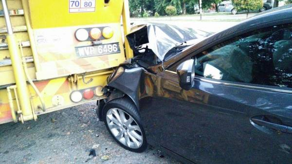 Mazda3车主:车祸后才发现安全配备的重要性!