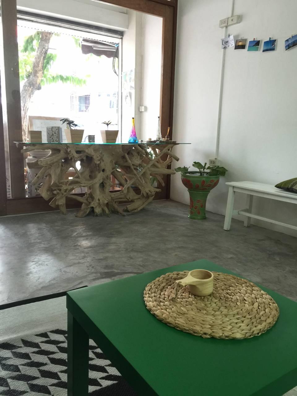 Green Home lobby