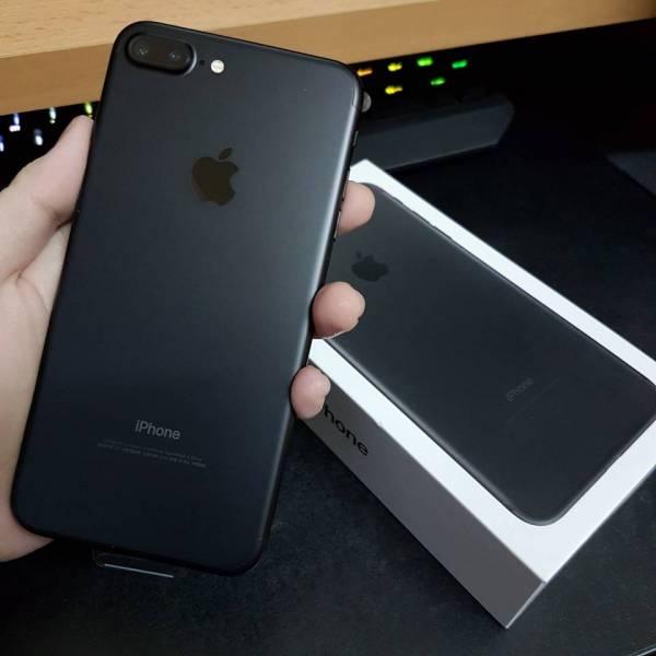 Iphone 7 Plus 哑黑色  不完整 开箱+简评