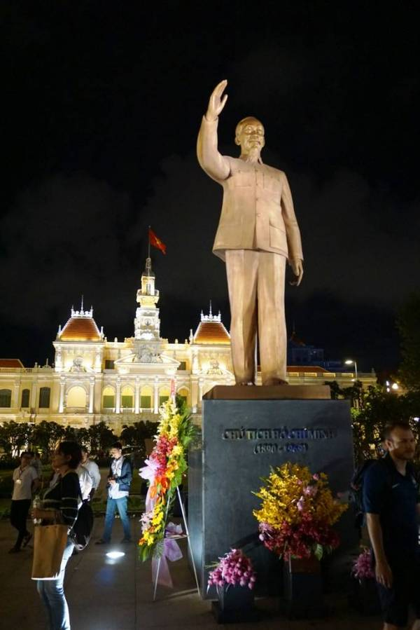 1st day,Ho Chi Minh City Hall