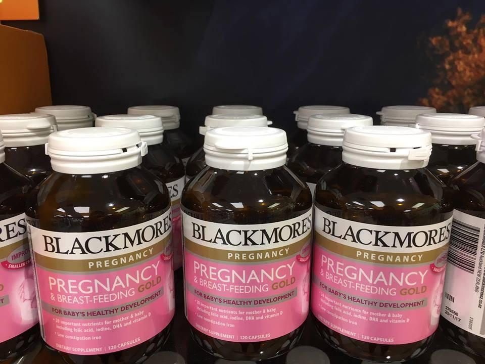 blackmores pregnancy & breastfeeding gold