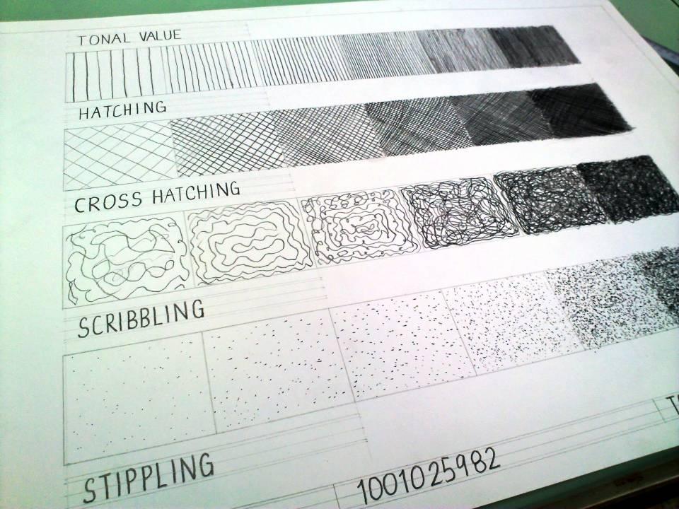 Drafting素描练习
