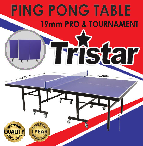 tristar ping pong table