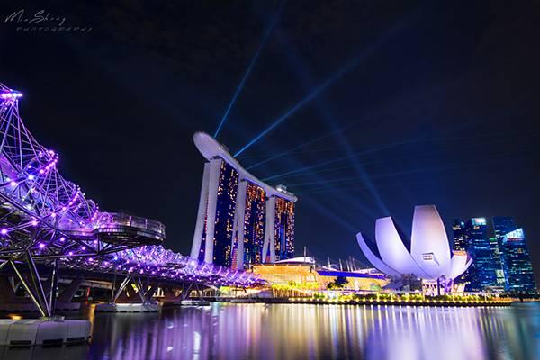 新加坡 - The Helix Bridge