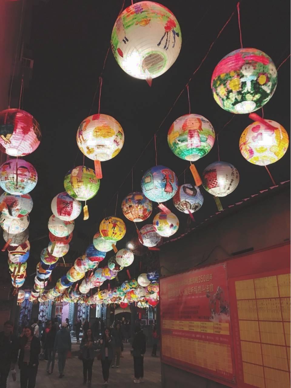 普济殿的灯会