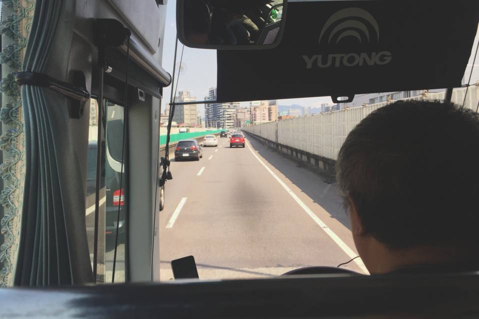 接驳巴士去九份十分