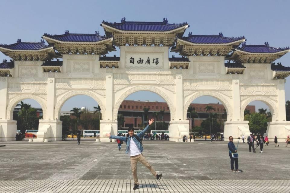 中正纪念堂 ,自由广场