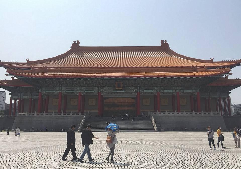 中正纪念堂,自由广场