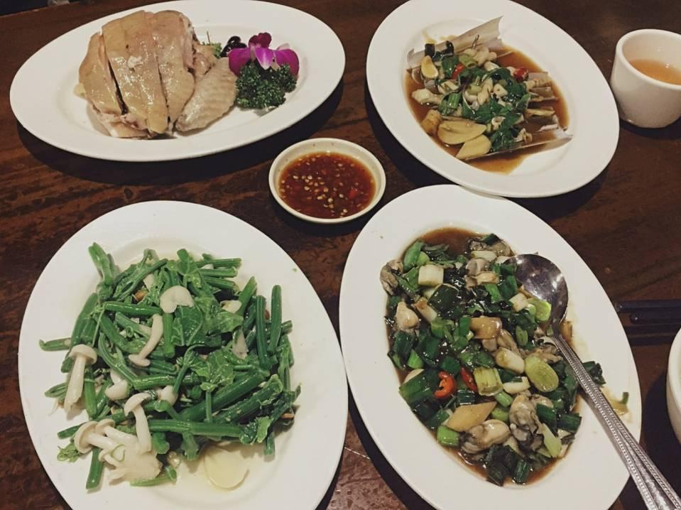 永康街午餐