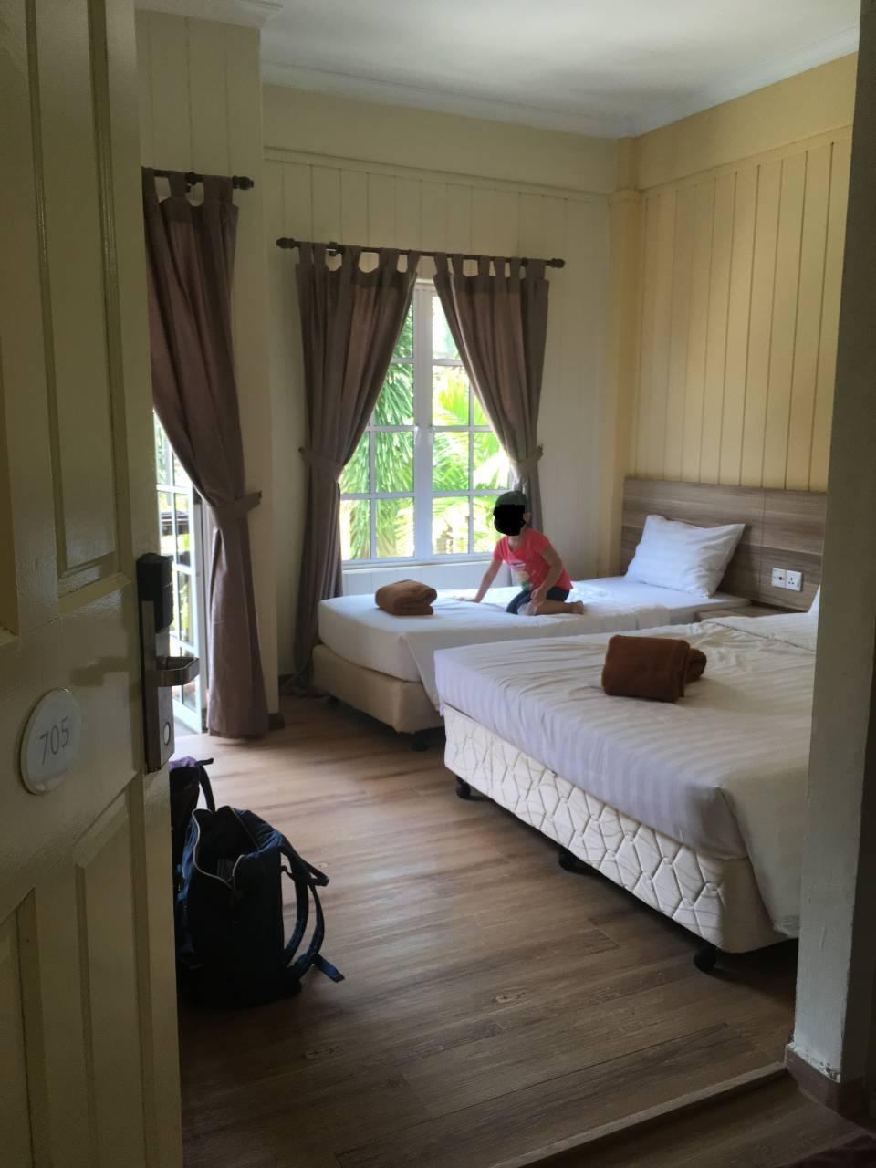 Redang Beach Resort - Triple Room