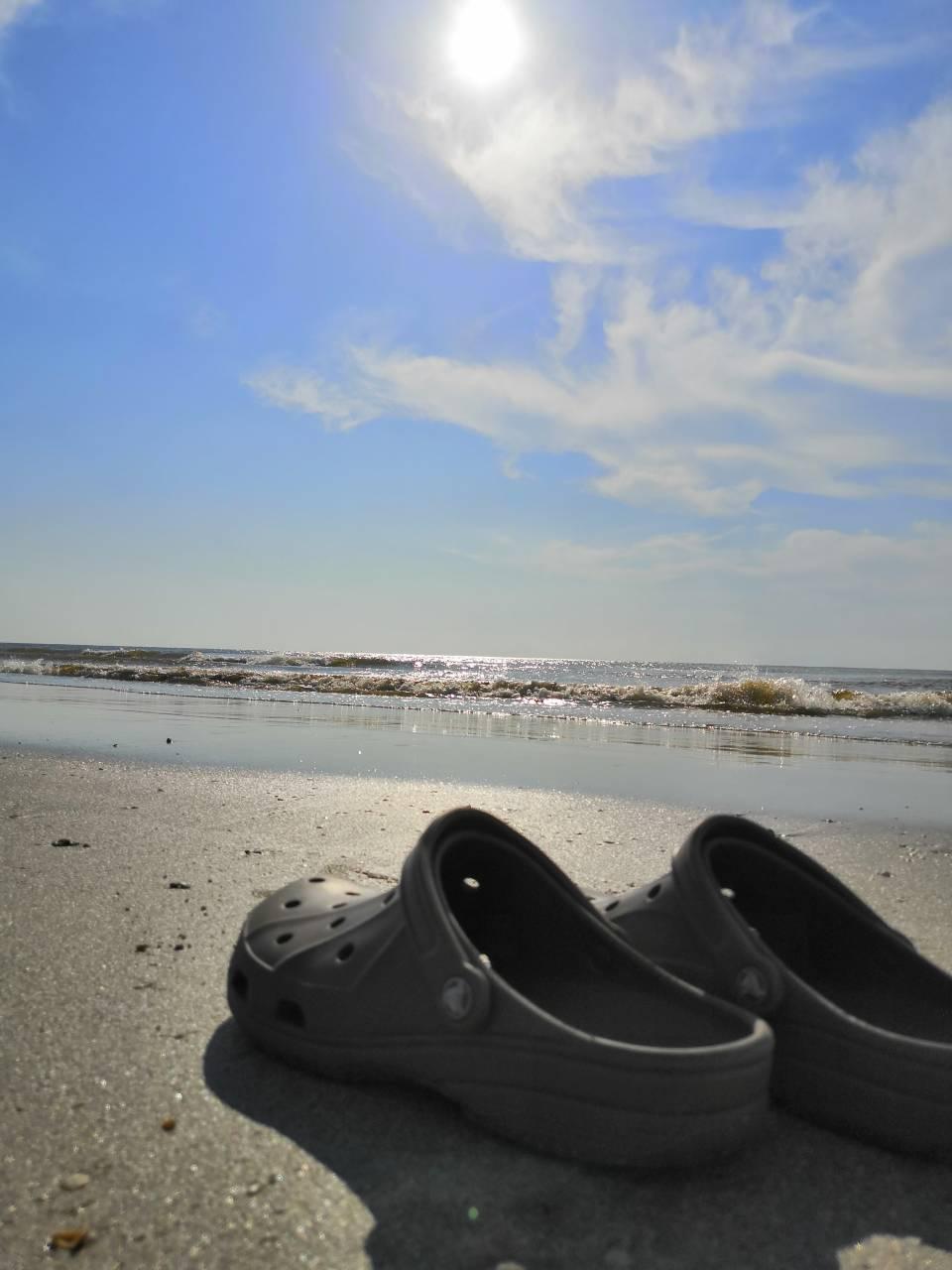 关丹酒店后的海滩