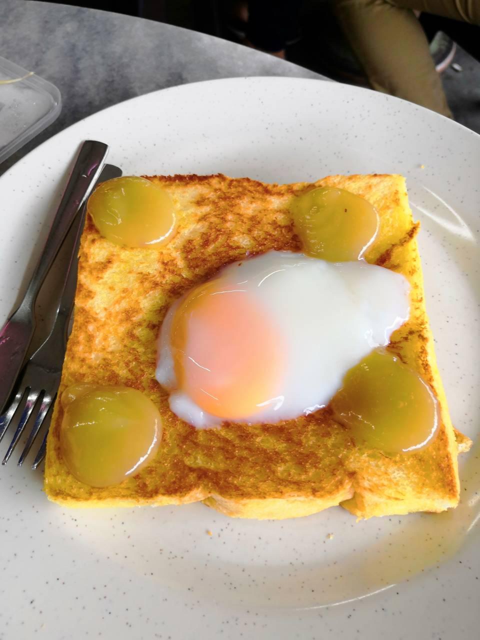 KB 有名的鸡蛋面包