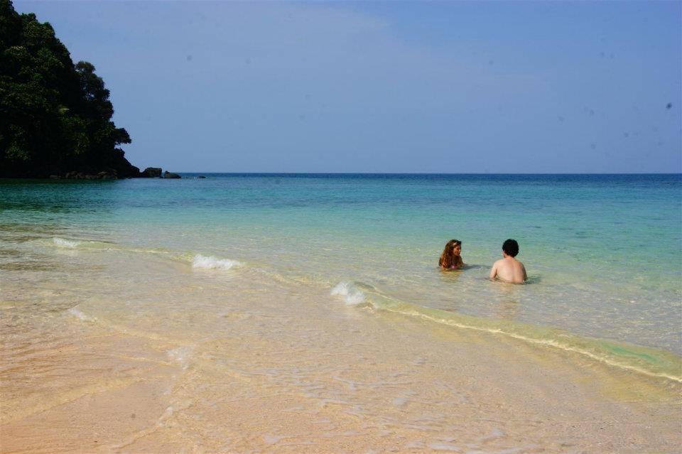 只有我们的沙滩