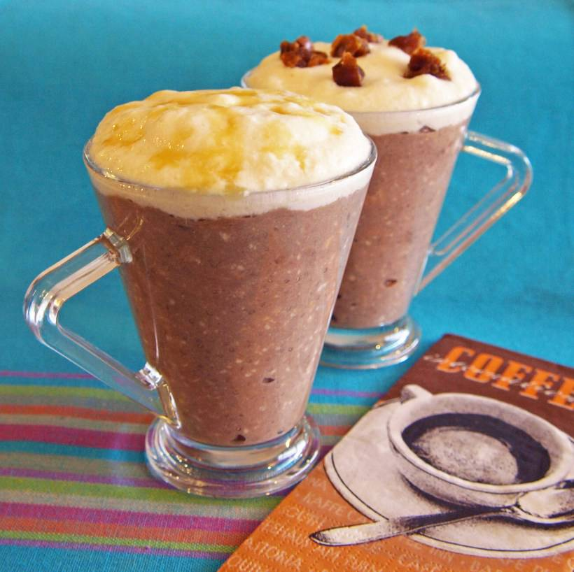 5.(Salted) Caramel Mocha Overnight Oatmeal(焦糖摩卡燕麥粥)