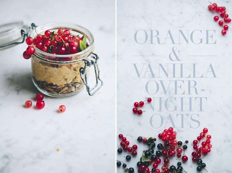 7.Orange & Vanilla Overnight Oats(橙汁香草燕麥粥)