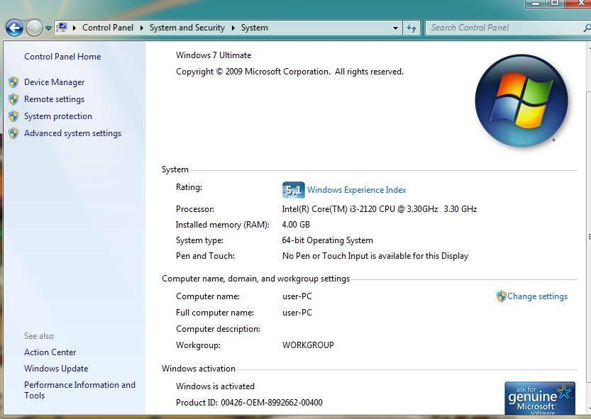 这是我的电脑