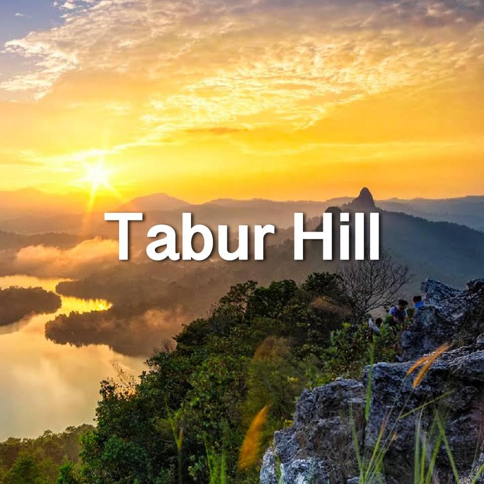 水晶山 Tabur Hill
