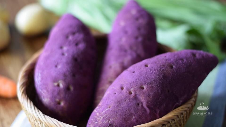 紫薯面包 _汤种、超柔软、仿真 Purple Sweet Potato Buns looks li.mp4_20201229_193314.827.jpg
