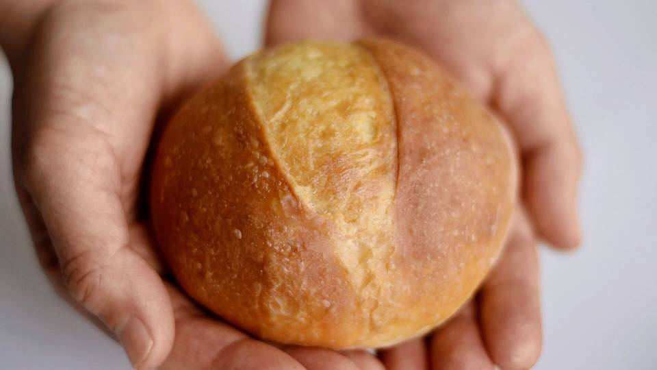 免揉黄油面包 .jpg