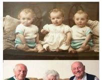 3胞胎,80年前,80年后~