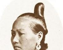 古早的中国女人发型