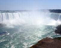 大瀑布的力量与美