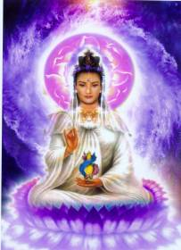 慈悲的女神--觀音菩薩 KWAN YIN PU SA