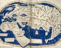 歷史上改變世界的10張重要地圖 包括中國最早的地球儀