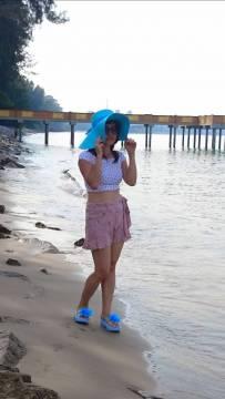 海边拍照  美吗