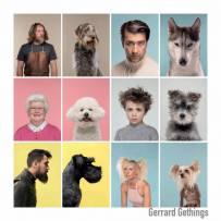 汪星人版本的你,摄影师Gerrard Gethings的狗狗拟人配对计画