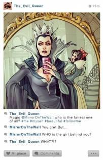 假如迪士尼人物也有Instagram,他们会放什么自拍照呢?
