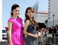杨丞琳和江若琳比美