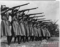 国民党女兵的罕见旧照片!!