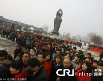 """武漢30萬市民歸元寺""""拜財神""""。。。"""