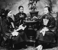 清朝女性 图片