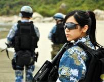 解放军海军女兵秀场