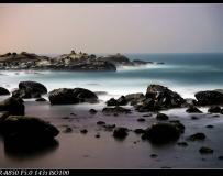 台湾基隆和平岛夜拍