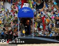 """馬德里市中心建起""""海灘垃圾旅館""""。。。"""
