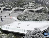 貴州迎來大範圍降雪 77縣出現積雪或凝凍。。。