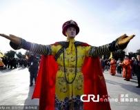北京天壇皇家祭天祈福大典首次帶粧綵排。。。