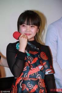 林妙可红黑裙打扮成熟 现场情绪失控
