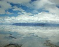 世界上最大的鹽湖阿塔卡瑪